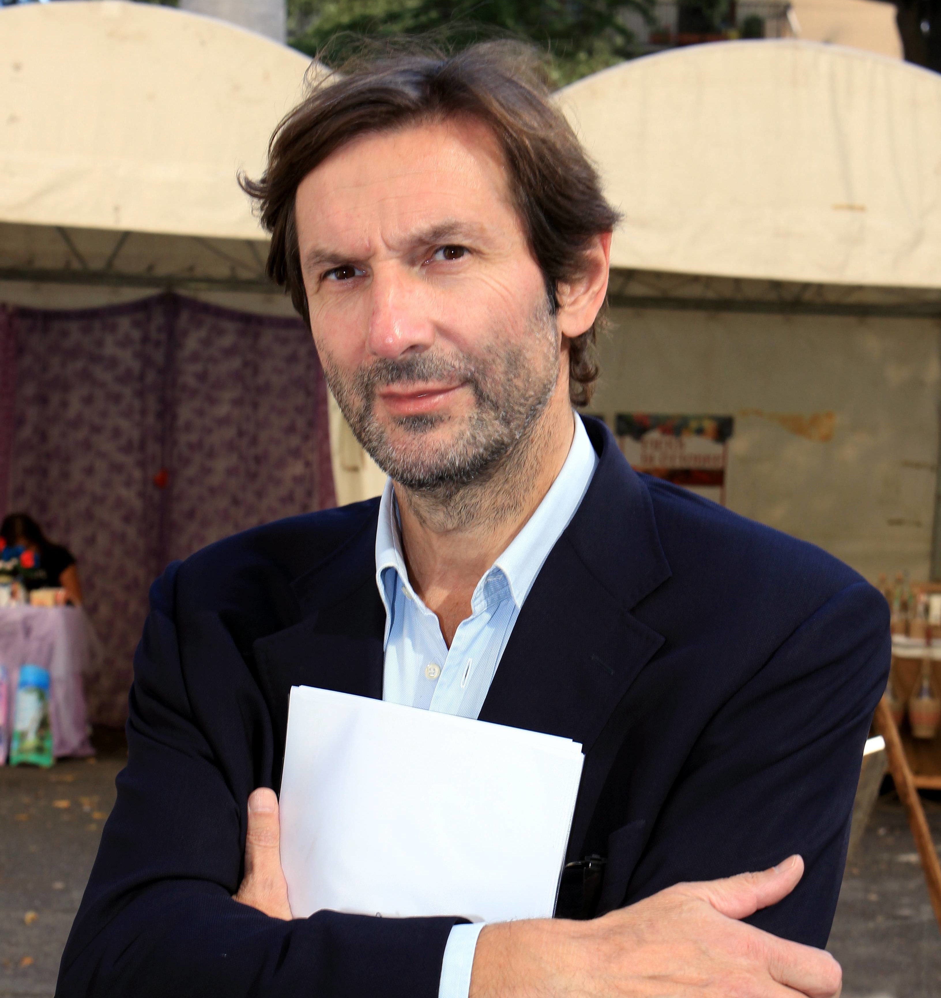 GERMOGLI PH: 6 OTTOBRE 2012 DICOMANO CONVEGNO LE IMPRESE CHE RESISTONO NELLA FOTO MASSIMO BIAGIONI DIRETTORE REGIONALE CONFESERCIENTI TOSCANA